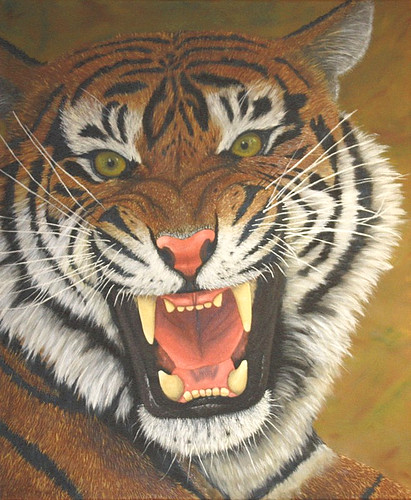 Tiger Roar [ Sold ] by Sid's art