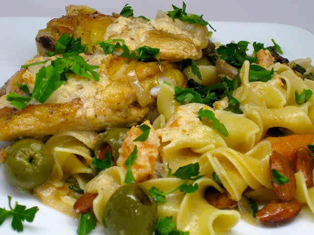 chicken w/sherry vinegar | foodalogue.com 2010 | By: joannova, a/k/a ...