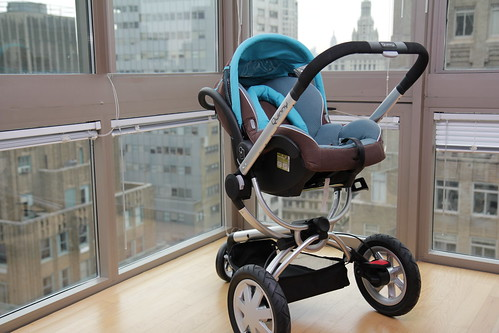 Quinny Buzz 3 with Maxi-Cosi Mico infant car seat