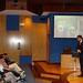 Xov, 25/03/2010 - 18:44 - Fernando Manzano, experto en inteligencia del grupo Interligare, durante la sesión que impartió a los participantes el programa Aulas de I+D, organizado conjuntamente por Tecnópole y la empresa Intellectia Bank. Tecnópole, 25 de marzo de 2010.