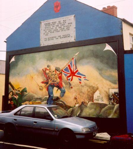 Political murals of northern ireland for Mural northern ireland