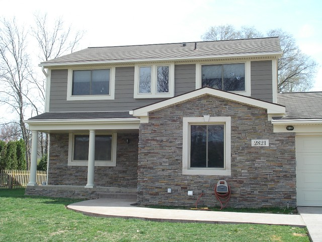 Bloomfield Construction - James Hardie Siding & Cultured Stone