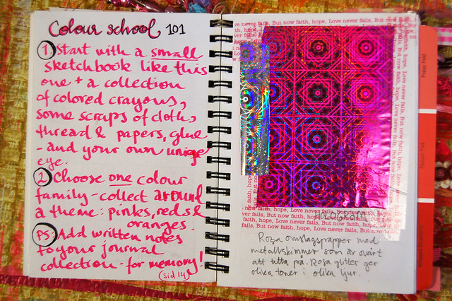 Pink Notebook: how to by iHanna