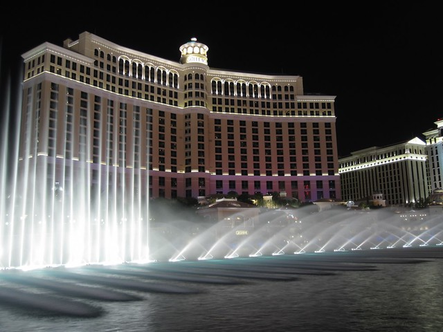Water Show of the Bellagio / Las Vegas