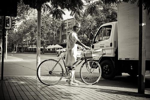 Patrimonio cultural en bici: Repartidor de productos marinos