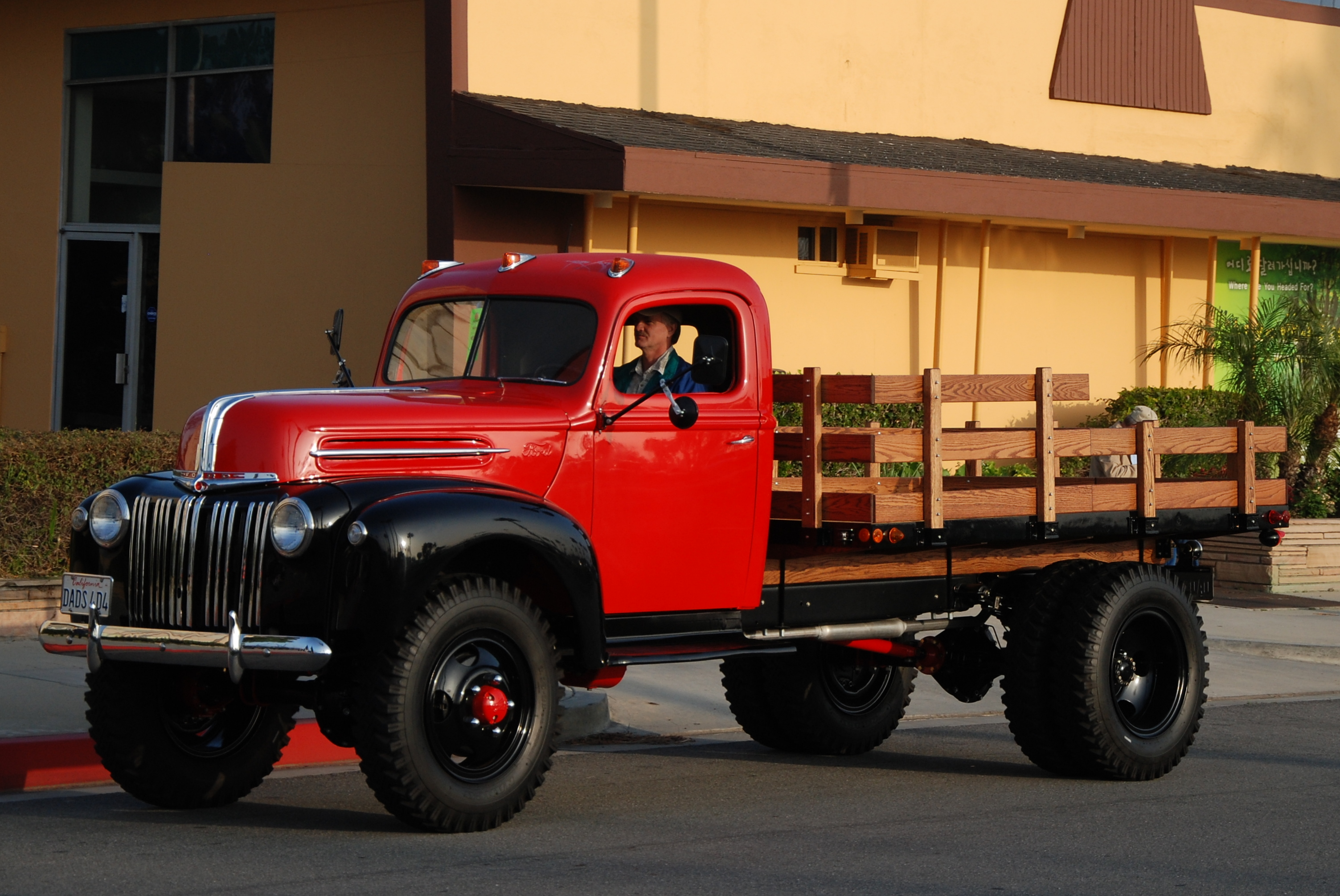 Ford Flatbed Truck