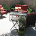 outdoor living space+backyard patio furniture