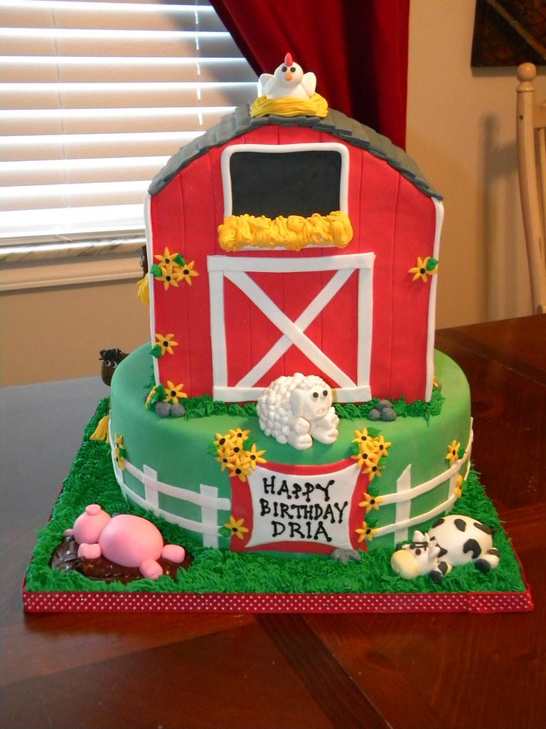 Superb Barn Birthday Jennifer Flickr Personalised Birthday Cards Veneteletsinfo