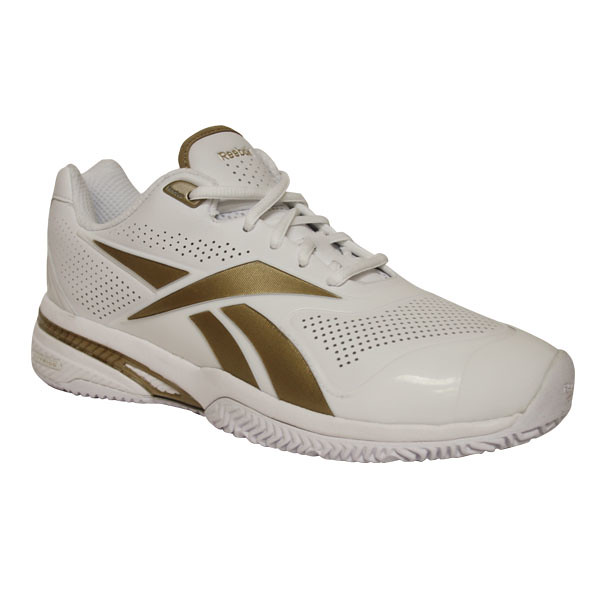 reebok the rematch s tennis shoes white gold