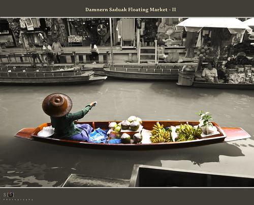 Damnern Saduak Floating Market - II