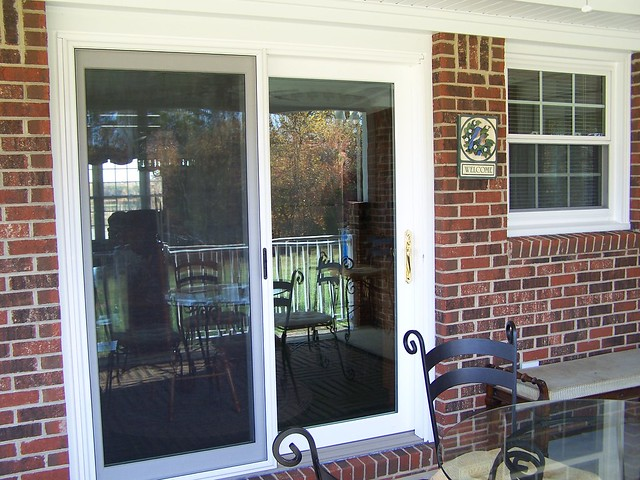 Door custom sliding patio door by ntm1909 flickr for Custom patio doors