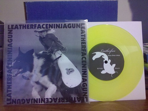 """I can upload to Flickr again: Leatherface / Ninja Gun Split Tour 7"""" by factportugal"""