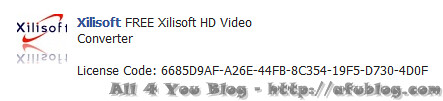 Xilisoft HD Video Converter license key