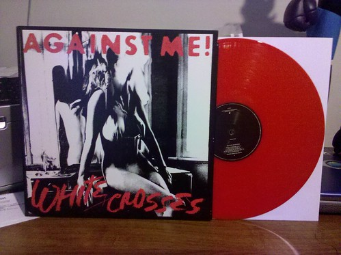Against Me - White Crosses LP - Red Vinyl - /1000 by factportugal
