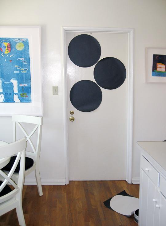 Kitchen+Laundry Room+Chalkboard Dots+removable chalkboard ...