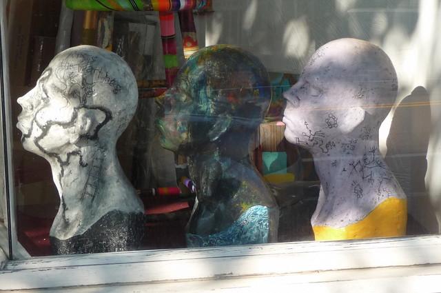 "Wellington-Harrington - ""Three Heads are Better Than One"" - The Big Hand Art Studio, Hampshire Street, Cambridge, MA"