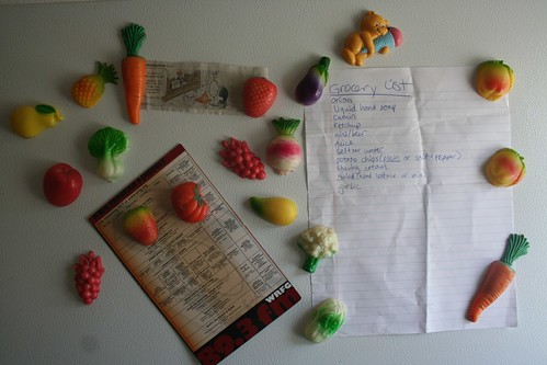 Fruit and vegetable magnets
