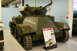"The Tank Museum, Bovington - 1941 British ""Harry Hopkins"" Light Tank Mk VIII"