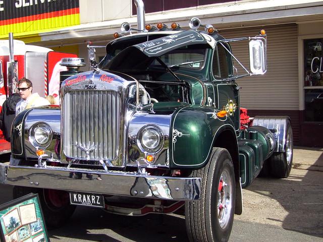 1964 Mack B Model : Mack b model truck one of trucks finest