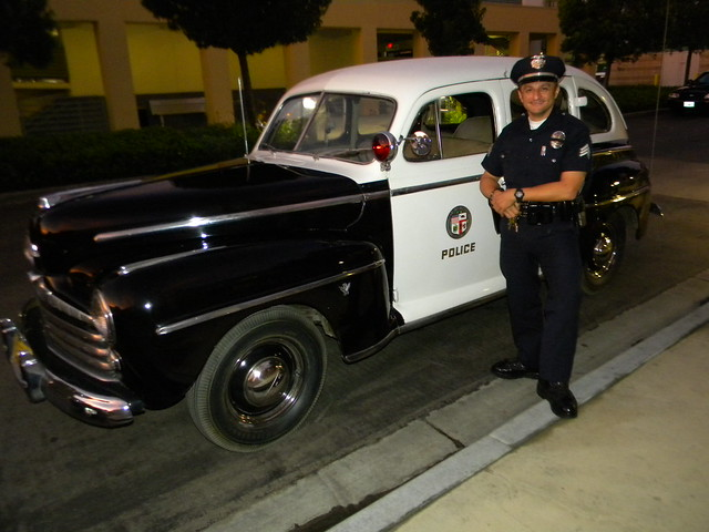 Flickriver: Photoset 'LAPD 1947 Police Road Squad Car Old ...