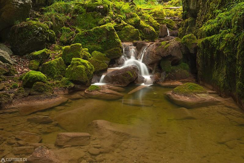 Waterfall 3 - Twannbachschlucht