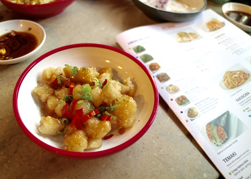 Sweet & sour cod