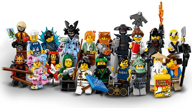 The LEGO Ninjago Movie 71019 Collectible Minifigures - opakowania 3