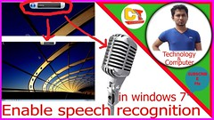 how to enable speech recognition in windows 7,2017