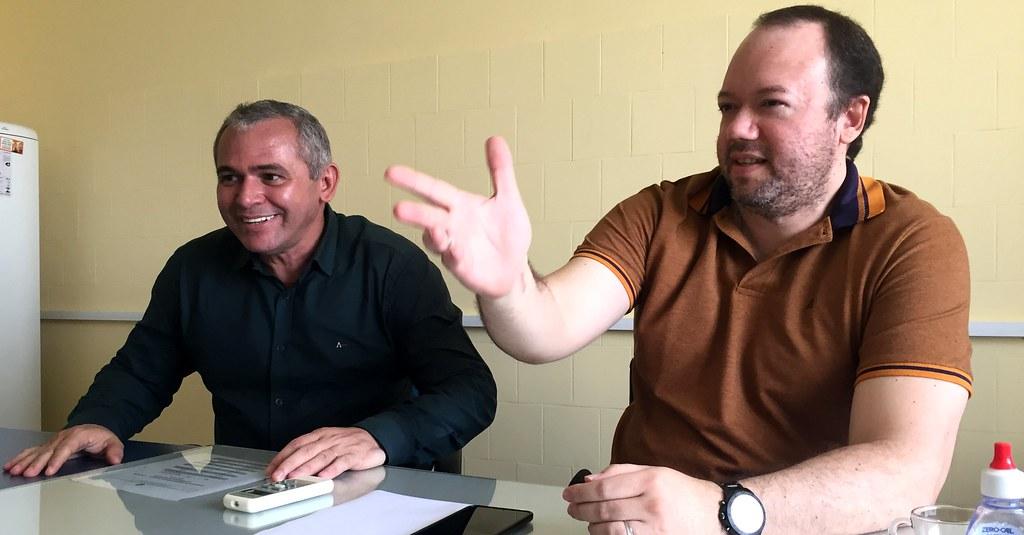 Ex-secretário de Saúde assume cargo de chefia na Regional da Sespa, OS - Nélio e Edson Filho