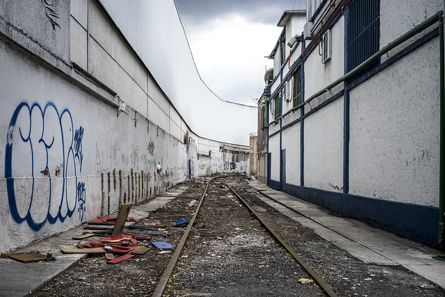 Abandoned Rails, Sony ILCE-7, Sony FE 35mm F2.8 ZA
