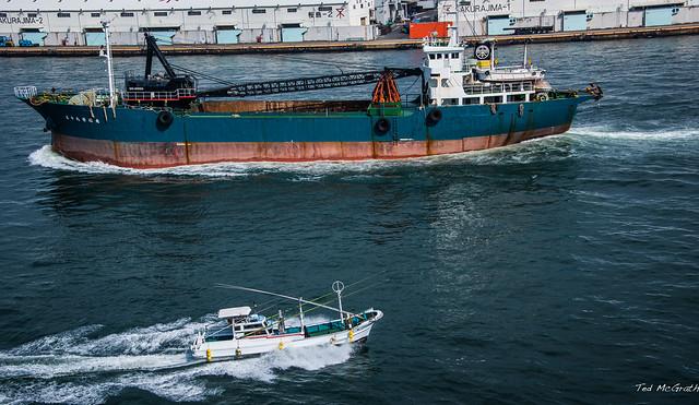 2017 - Japan - Osaka - Port - 5 of 25