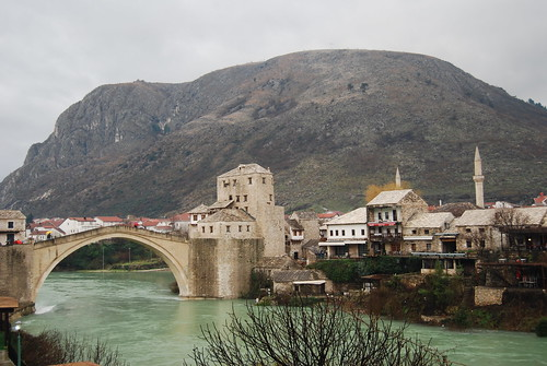 Old bridge in Mostar, Bosnia Herzegowina