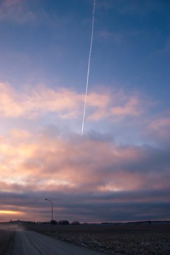 blue sunset sky orange yellow landscape skåne sweden canonefs1785mmf456isusm törringe