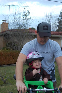Vivian's First Bike Ride w/ Daddy | by uvince