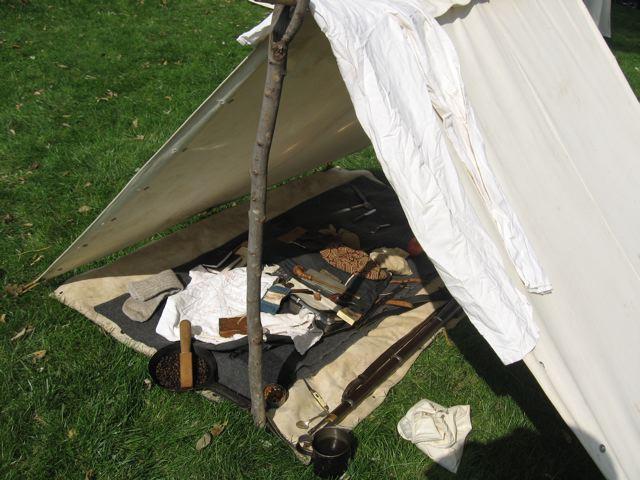Civil War Tents : Wv civil war dog tent display flickr photo sharing