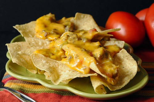 Nacho Meat and Cheese Dip-an easy cheesy dip to keep warm in a crock pot