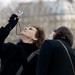 """Glenn Close """"La divine """" et le ciel de Paris by Paolo Pizzimenti"""