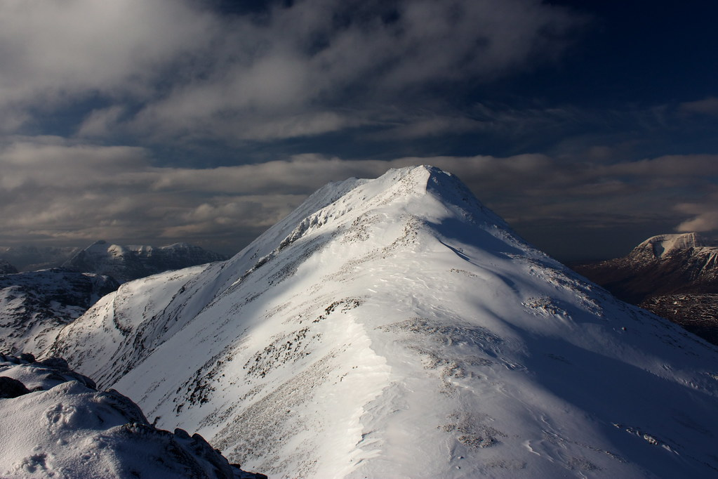 The summit of Beinn Liath Mhor