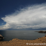 Dramatic Skies Over Lake Titicaca - Isla del Sol, Bolivia