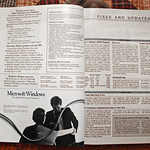 Microsoft Windows 1.0 Six-Page Advertising Insert In Byte Magazine, January 1986 (4 of 4)