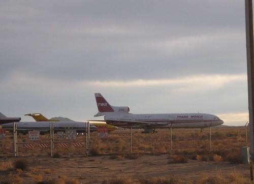 arizona abandoned airplanes twa l1011 kingman kingmanairport