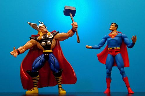 Thor vs. Superman (49/365)