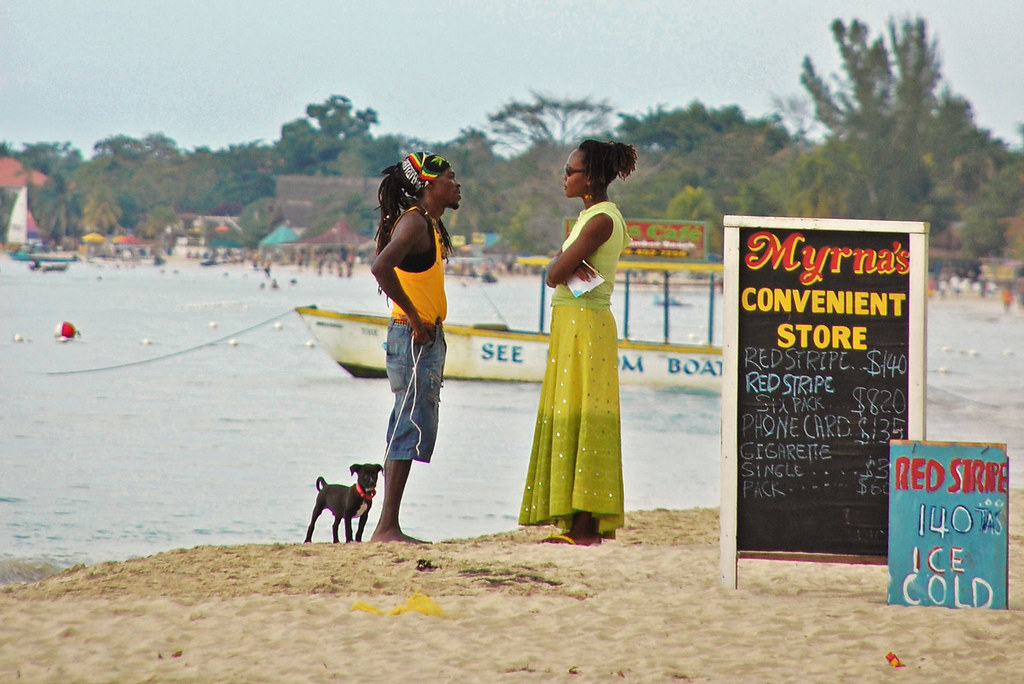 Beach talk, Jamaica