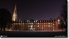 St. Mary's House at Night