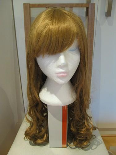Zephyr, gold, long curl