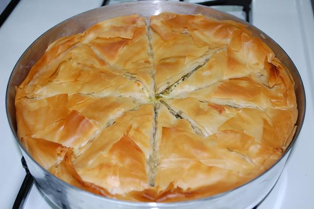 Broccoli Cheese (Feta) Pie