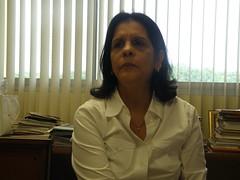 Nitzia Barrantes DIrectora Técnica de la Fundación Pro Biblioteca Nacional de Panamá