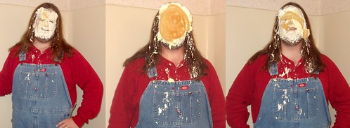 Pie in the face: Slapstick Sequence!