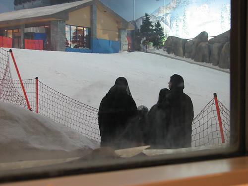 The women of SkiDubai
