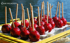 cherry, candy apple, fruit, food, dish,